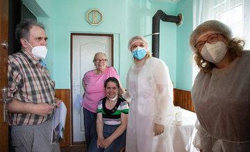 FOTO: Mobilná očkovacia jednotka Žilinský kraj