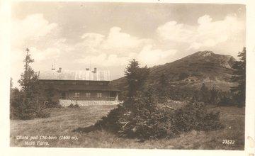 FOTO: Chata pod Chlebom na dobových pohľadniciach