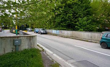 FOTO: Poškodený most na Ulici Matice Slovenskej v Žiline začnú rekonštruovať