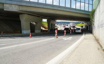 FOTO: Dokončenie rozšírenia jazdných pruhov a napojenia na privádzač na Solinkách