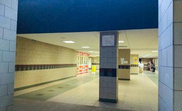 FOTO: Silné dažde otestovali zrenovovaný podchod pri železničnej stanici v Žiline