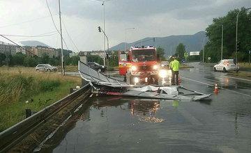 FOTO: Následky nepriaznivého počasia v Žilinskom kraji - 14.7.2021