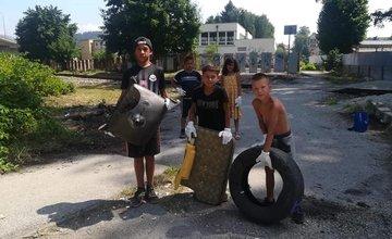 FOTO: V piatok 16. júla sa na Frambore uskutočnilo ďalšie dobrovoľnícke čistenie