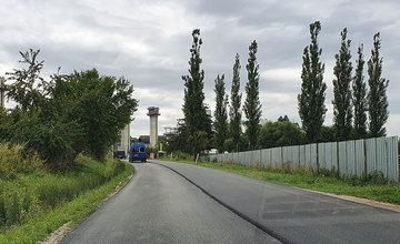 FOTO: Oprava cesty medzi obcami Višňové a Turie