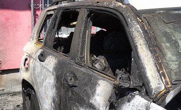 FOTO: Požiar osobných áut v areáli žilinskej firmy