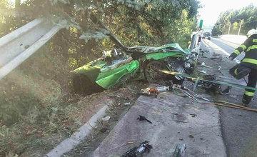 FOTO: Dopravná nehoda pri meste Dolný Kubín 10. septembra 2021