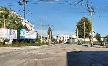 FOTO: Rekonštrukcia cesty medzi kruhovým objazdom Rondel a mostom nad Rajčankou v Závodí
