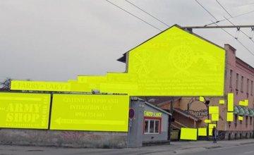 Aj tu nemusí byť vaša reklama vizuálny smog Žilina diskusia