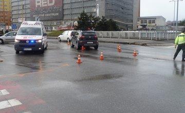 Aktuálne dopravná nehoda na Mostnej ulici