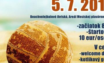 Beachvolejbalový turnaj dvojíc Žilina