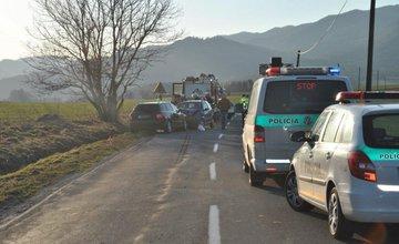 Čelná zrážka v Turčianskych Tepliciach skončila tragicky