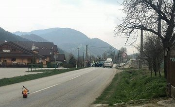 Čelná zrážka vozidiel v Belej pri Žiline