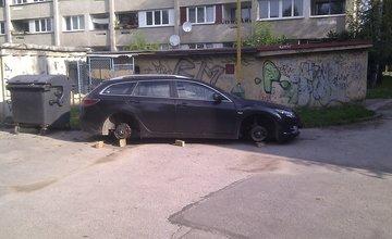 Ďalšia krádež kolies z áut v Žiline