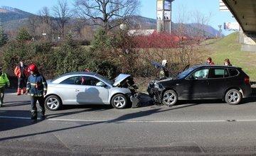 Ďalšia z piatich dopravných nehôd v nedeľu 9.marca 2014 v Žiline