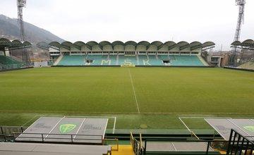 Dobudovanie tribúny na futbalovom štadióne