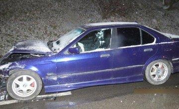 Dopravná nehoda 24.1.2015 - Obchodná Vlčince