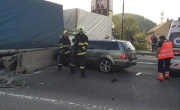 Dopravná nehoda na moste v Budatíne 29.4.2014
