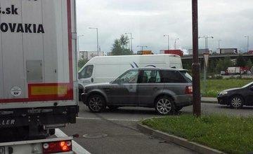 Dopravná nehoda na Šibeniciach 12.8.2014