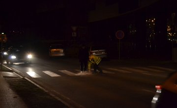 Dopravná nehoda na Vysokoškolákov 7.marca 2014