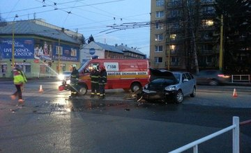 Dopravná nehoda Predmestská a Veľká okružná