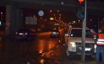 Dopravná nehoda pri Celulózke 17.1.2014