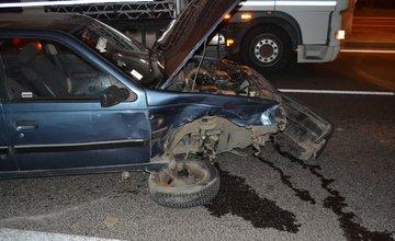Dopravná nehoda pri Celulózke 9.10.2014