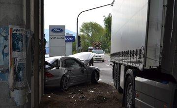 Dopravná nehoda pri Celulózke 9.mája 2014