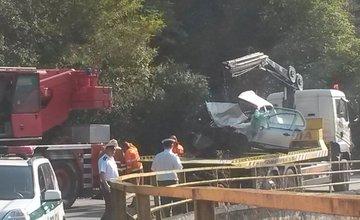 Dopravná nehoda pri Hričovskej priehrade