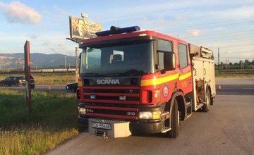 Dopravná nehoda pri Tepličke nad Váhom 27.5.2014