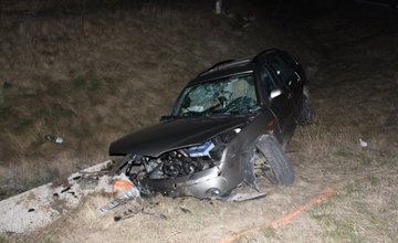 Dopravná nehoda pri Varíne 27.2.2014