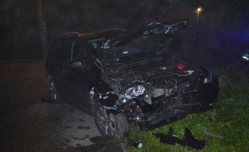 Dopravná nehoda v obci Rosina 27.9.2014