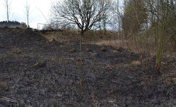 Dva požiare v Trnovom v sobotu 22.marca 2014
