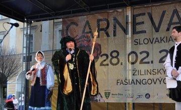 Fašiangové masky v Žiline v roku 2014