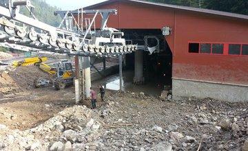 Fotografie z Vrátnej doliny dva týždne po prírodnej kalamite