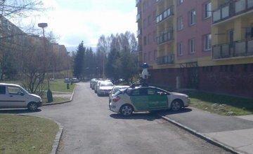 Google Street View automobily v Žiline