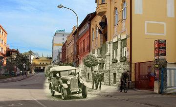 Historické fotografie Žiliny v porovnaní so súčasnosťou - II časť