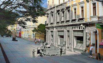 Historické fotografie Žiliny v porovnaní so súčasnosťou - V časť