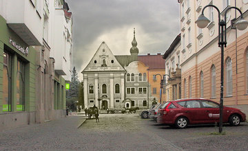 Historické fotografie Žiliny v porovnaní so súčasnosťou - VI časť.