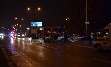 Hromadná dopravná nehoda na Nemocničnej