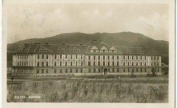 Kasárne v Žiline 5. pluk špeciálneho určenia