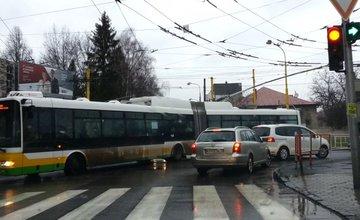 Kolaps dopravy v meste