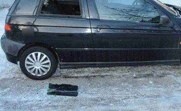Krádeže spôsobené vlámaním do vozidiel v Žiline