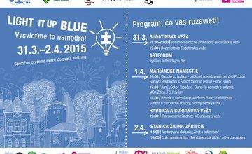 Na prvého apríla sa mesto rozsvieti na modro, nepôjde pritom o žart