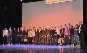 Najúspešnejší športovci mesta Žilina za rok 2014 - Vyhlásenie