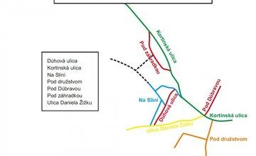 Navrhnite názvy ulíc v Brodne, Zádubní a Žilinskej Lehote!