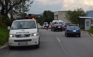 Nehoda cyklistu v mestskej časti Trnové