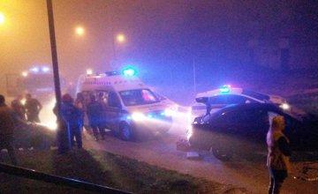 Nehoda Hájik konečná trolejbusov