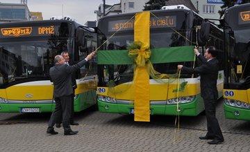 Nové trolejbusy v Žiline