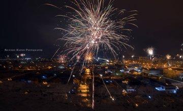 Novoročné ohňostroje 2015