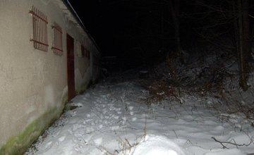 Po naháňačke v snehu chytili zlodejov, ktorí vykradli potraviny